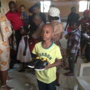Shoe and Food drive kuje Abuja
